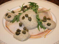 Pollo tonnato (kiprollade met tonijnsaus) - voorgerecht - recept