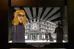 Vitrines Catherine Deneuve par Marjane Satrapi au Bon Marché - Paris, septembre 2012 by JournalDesVitrines.com, via Flickr
