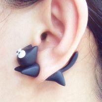 Shark Bite You DIY Earrings from Noirlu on Storenvy