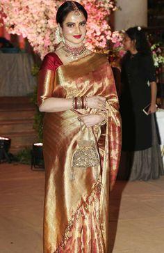 238 Best Rekha in kanjeevaram images in 2019 | Rekha saree