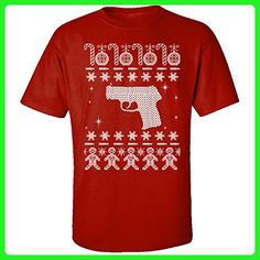 Guns And Pistols Kel-tec Ugly Christmas Sweater - Adult Shirt L Red - Holiday and seasonal shirts (*Amazon Partner-Link)