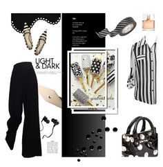 """""""Mix and Match"""" by fl4u ❤ liked on Polyvore featuring Monster, CB2, Betsey Johnson, Marc Jacobs, Givenchy, stripes, blackandwhite, MixandMatch and mixpatterns"""