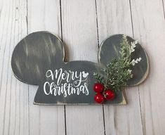 Your place to buy and sell all things handmade Happy Holiday or Merry Christmas Wooden Ear Hat Sign Christmas Phrases, Christmas Signs, Christmas Projects, All Things Christmas, Winter Christmas, Holiday Crafts, Christmas Holidays, Christmas Ornaments, Xmas