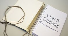 A Year Of Creativity - Day Planner by Camilla Edvardsen, via Behance
