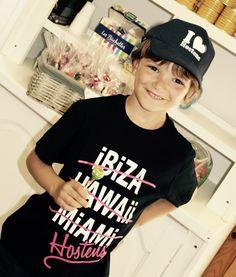 """T-shirt Enfant """"Hostens"""" et casquette """"I love Hostens"""""""