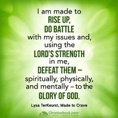 Lysa TerKeurst, Make to Crave<br> Biblical Quotes, Bible Quotes, Bible Verses, Quotable Quotes, Crave Quotes, Christian Fitness Motivation, Namaste, Weight Watchers Motivation, Made To Crave