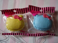Hello Kitty Squishy Macaroon