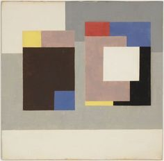 Ben Nicholson (1894-1982) was a British painter of abstract compositions (sometimes in low relief), landscape and still-life. On visits to Paris he met Mondrian, whose work in the neoplastic style was to influence him in an abstract direction, and Picasso, whose cubism would also find its way into his work. His gift, however, was the ability to incorporate these European trends into a new style that was recognizably his own.