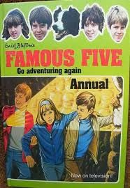 Famous Five Annual Gallery Enid Blyton Books, The Famous Five, Treasure Island, Paperback Books, Childrens Books, Nostalgia, Tv Shows, Childhood, Adventure
