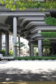 Park Royal on Pickering Singapore Photograph - NOMA* Singapore Architecture, Hotel Architecture, Green Architecture, Amazing Architecture, Contemporary Architecture, Landscape Architecture, Landscape Design, Architecture Design, Door Gate Design
