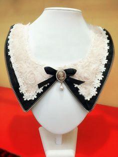Agrega un cuello clásico y sofisticado a tu atuendo del día. #cuello #diy #camisa