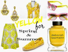Trend Colour Yellow for Spring, Summer, the City and the Beach | Funky Jungle, fashion and personal style blog