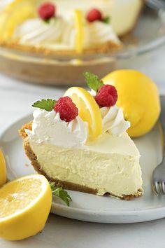 Heavenly Lemon Cream Pie Recipe Dutch Oven Set, Lemon Cream Pies, Pie Recipes, Lemon Recipes, Recipies, Lemon Desserts, Baking Recipes, No Bake Treats, Creamy Chicken