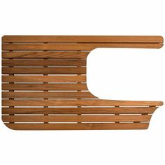Teak Shower Mat for Airstream Bambi Sport Airstream Sport, Airstream Bambi, Airstream Living, Airstream Campers, Vintage Airstream, Vintage Trailers, Camper Van, Vintage Campers, Airstream Renovation