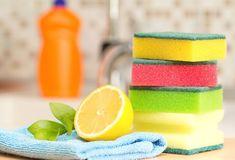 Cómo desinfectar tus esponjas y paños de cocina #trucos #hogar #limpieza #home #clean #consejos #desinfecta #paños #estropajos #esponjas #trapos www.hogardiez.com.es
