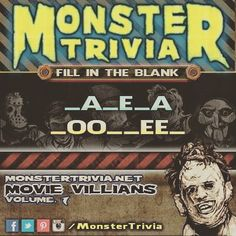 Its time for another #Monster #Trivia #CONTEST: Name The Horror Villain!! #HauntedHouse #MonsterTrivia for September 19th #PRIZE: 2 #FREE Tickets to the #Haunted #Elementary for Opening Night AND a $10.00 gift certificate from Dynamic Ink & Steel good for any goods or services in the shop! Heres how to win: 1.) #LIKE & #SHARE this post 2.) Comment with the correct answer & #TAG the person that youd bring if you won. You need to do these 2 things to be eligible. One ##Winner will be randomly…