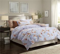 Cheap bedclothes silk, Buy Quality bedsheet covers directly from China bedclothes Suppliers: lai Yin Sun Noble Bedding set Flowers Printed Bedsheet Pillowcase Duvet cover set Bedclothes Queen size Purple Bedding Sets, Cotton Bedding Sets, Flat Sheets, Bed Sheets, Teen Bedding, Modern Bedding, Paisley, Bedclothes, Textiles