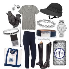 """Grey and Navy-Black"" by bacardiandeq on Polyvore…. minus the helmet visor"