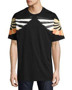 GIVENCHY Columbian-Fit Wings T-Shirt, Black. #givenchy #cloth #