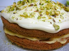 Flora's Famous Courgette Cake - My favourite cake to bake in the whole entire world! Courgette And Lime Cake, Courgette Cake Recipe, No Dairy Recipes, Cooking Recipes, Marrow Recipe, Brownies, Appetizer Recipes, Dessert Recipes, Cake Recipes