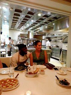 Chef Izu Ani with Samantha Wood. Dining Concept: Dining Around Dubai With @foodivaworld ... #DiningConcept #diningarounddubai #foodiva