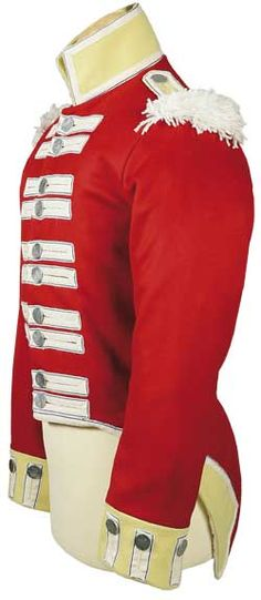 (West Middlesex) Regiment of Foot, Enlisted Man's Coat. Battalion in Upper Canada from August 1814 to June No engagements. Army Coat, Band Jacket, British Uniforms, 18th Century Clothing, Army & Navy, Pride And Prejudice, Fashion History, Menswear, My Style