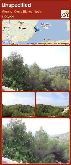 Unspecified in Moraira, Costa Blanca, Spain ►€100,000 #PropertyForSaleInSpain