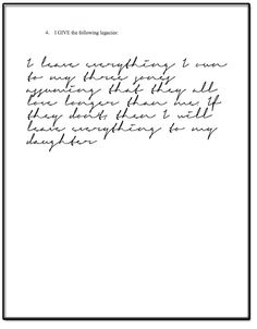 Can I write my own Last Will and Testament | Our blog posts | Pinterest