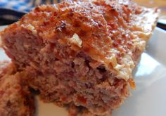 Grandmother's Old Fashioned Ham Loaf - Frugal Hausfrau Meatloaf Recipes, Sausage Recipes, Pork Recipes, Cooking Recipes, Savoury Recipes, Amish Ham Loaf Recipe, Amish Recipes, Ham Balls