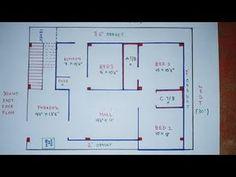 30 × 40 east face home plan map naksha - Easy Home Plans 2bhk House Plan, Model House Plan, Duplex House Plans, Bungalow House Plans, Luxury House Plans, Dream House Plans, 1 Bedroom House Plans, Cottage Floor Plans, House Floor Plans