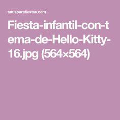 Fiesta-infantil-con-tema-de-Hello-Kitty-16.jpg (564×564)