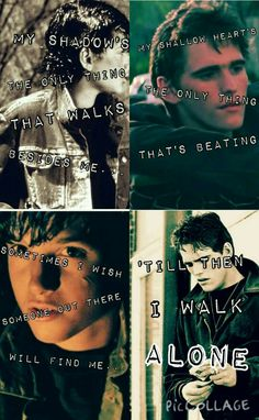 Im so proud of this! It's pictures of Dally and Johnny and quotes from Green Day's Boluvard of Broken Dreams. By @beatlesbella