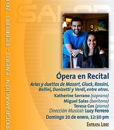 """""""Opera En Recital"""" En El Salón Automotriz Del Siglo XXI"""