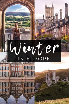 The 11 best winter destinations in Europe. Which cities to visit in the late months of the year. Where to see Christmas markets in Europe and which festivals to attend! Cities include Paris, Lausanne, Turin, and The Hague. Source by Best Winter Destinations, Europe Destinations, Europe Travel Tips, Best Places To Travel, Travel Abroad, European Travel, Winter Vacations, Romantic Vacations, Travel News