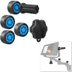 RAM Mount Pin-Lock Security Kit f/ Double Swing Arm and Gimbal Mount