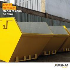 Obras que utilizam telhas metálicas tendem a produzir menos resíduos. Você evita gastos com caçambas, diminui a quantidade de entulhos e economiza com a mão de obra.   #FormareMetais #Obras #Reforma #Casa #Aço #Metais
