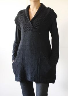 Craftsy: Ebony tunic knitting pattern