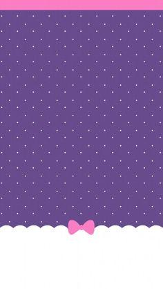 Cute purple girly Wallpaper