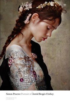 Fairytale fashion fantasy / karen cox.  ♔ Portrait of Àstrid Bergès-Frisbey by Simon Procter