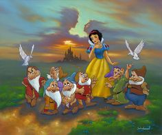 Trendy wall paper iphone disney princess snow white seven dwarfs Disney Princess Snow White, Snow White Disney, Walt Disney, Cute Disney, Disney Land Pictures, Jim Warren, Aladdin, Snow White Art, Lilo Et Stitch