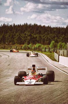 Emerson Fittipaldi, Marlboro McLaren-Ford M23, Swedish Grand Prix, Anderstorp, 1974.