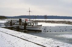 awesome Fotografie »Am Kanal, Bad Bederkesa © Winter Nº 4«,  #Landleben