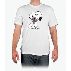 Peanuts - Snoopy - Springtime Snoopy - Men T-Shirt