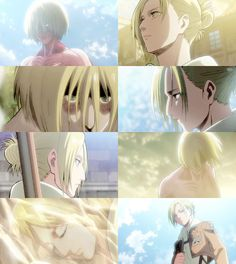 but i am hell bound Ereri, Ymir, Female Titan, Annie Leonhart, Anime Galaxy, Attack On Titan Anime, Lost Girl, Me Me Me Anime, Titan Shifter