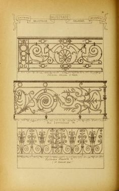 Materials and documents of architecture and sculpture : classified alphabetically Architecture Portfolio, Architecture Plan, Architecture Details, Architecture Diagrams, Stencil Wood, Stencil Printing, Wall Painting Decor, Drawing Templates, Faux Stained Glass