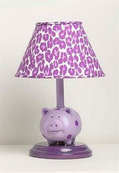 Lamp Shades Light Ideas Sconces Pigs Polka Dots Kids Rooms Lamps Bedrooms