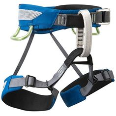 Black Diamond Wiz Kid Harness  A decked-out kids' harness developed for up-and-coming rock monkeys, the Black Diamond Wiz Kid loads all the features of our adult harnesses in a smaller size. Similar to our Momentum and Primrose harnesses, the Wiz Kid features our Dual Core Building, which uses 2 slim bands of high-tensile webbing on the outer edges of the waistbelt and a venting OpenAir foam insert in the center to use breathable, lightweight comfort without pressure points. And for growing…