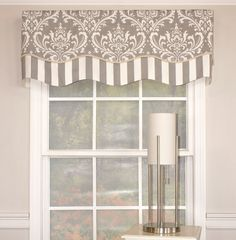 House of Hampton Odom Glory Window Valance Decor, Home, Windows, Kitchen Window Treatments, Window Design, Home Renovation, House Of Hampton, Window Toppers, Valance Window Treatments