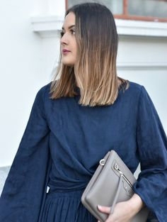 Pascale from Serendipity Ave wearing Blak the label and Saben Tilly bag