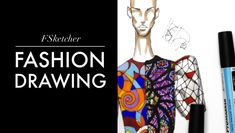 STAINED-GLASS INSPIRATION P.2 | Fashion Drawing